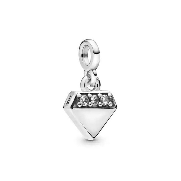 2/$35 NWOT Pandora Slender Diamond Dangle Charm